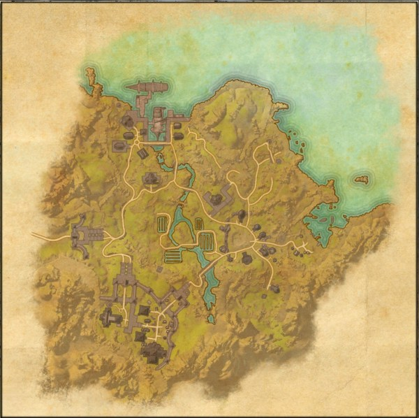96 Map Of Tamriel With Scale Elder Scrolls Online Detailed World