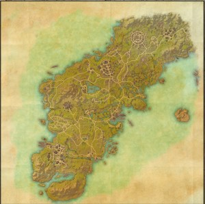 The maps of the Elder Scrolls Online - Glenumbra