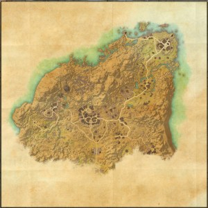 The maps of the Elder Scrolls Online - Rivenspire