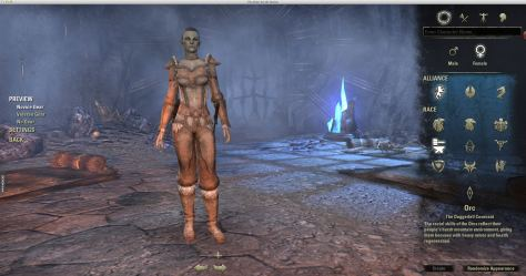 Exploring the Elder Scrolls Online - Racial and Alliance Starting screen