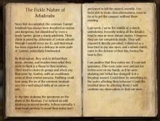 The Books of the Elder Scrolls Online - The Fickle Nature of Mudcrabs