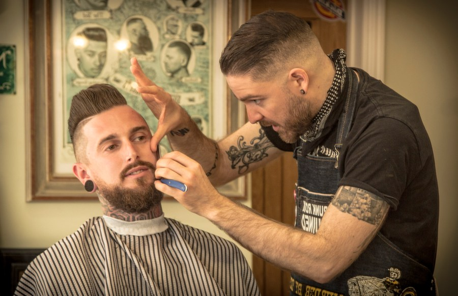 Cut the Punx Barber, indie Exeter