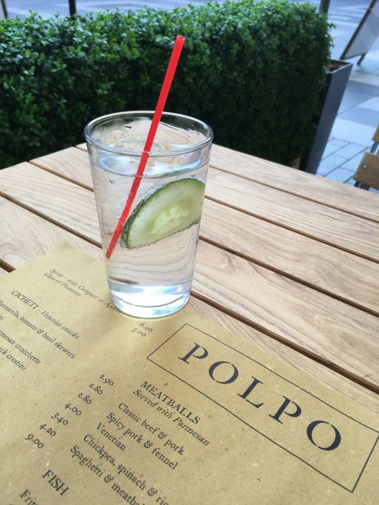 G&T at Polpo, Exeter, pic by Stephanie Darkes