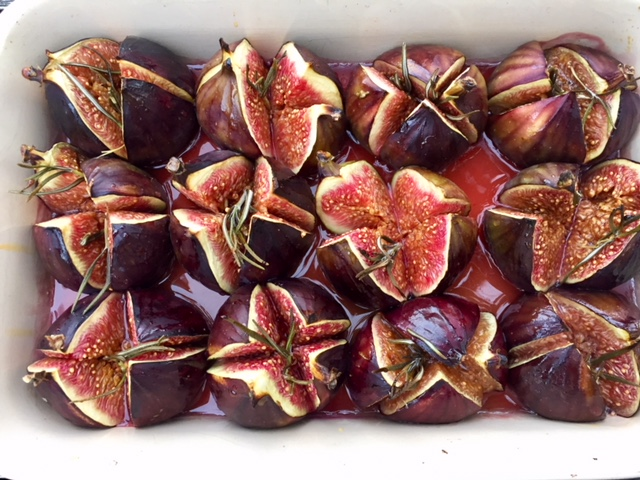 Roasted fig with, Princesshay Honey And rosemary by crunch nutrition for Exploring Exeter