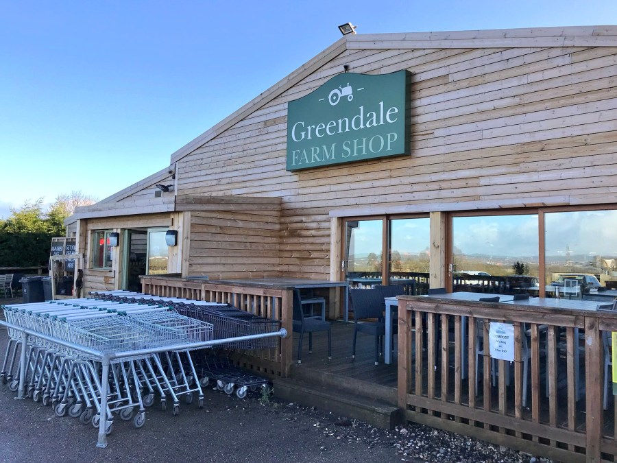 Adventures in Devon February 2018, Greendale Farm Shop, Exploring Exeter