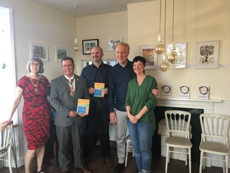 Exeter Illustrators exhibition open at The Welcome Cafe, Exploring Exeter