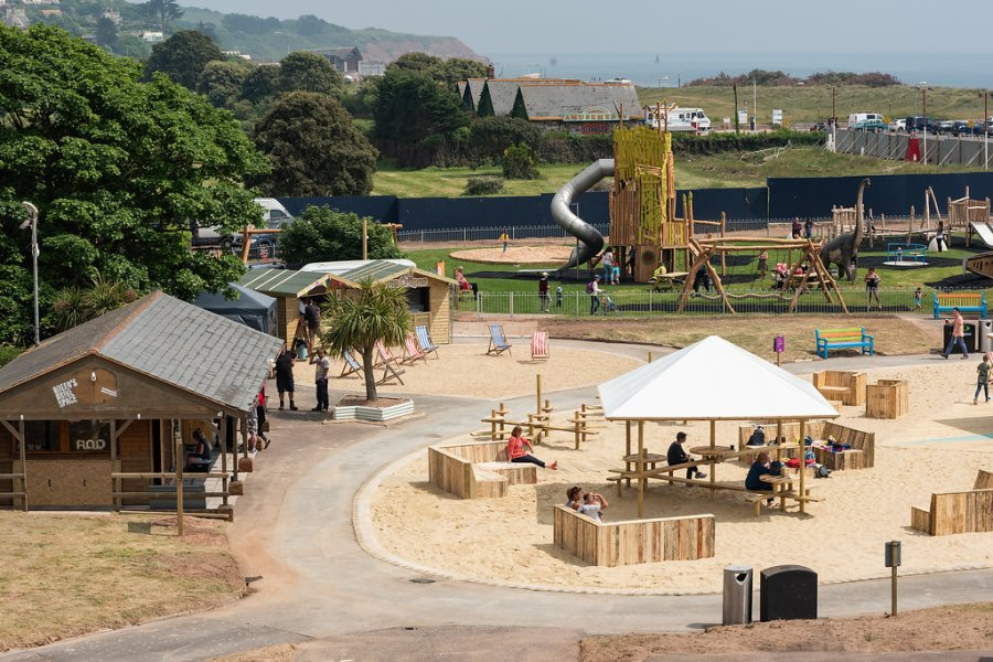 Beachside fun this Summer at Queen's Drive Space, Exmouth, Exploring Exeter