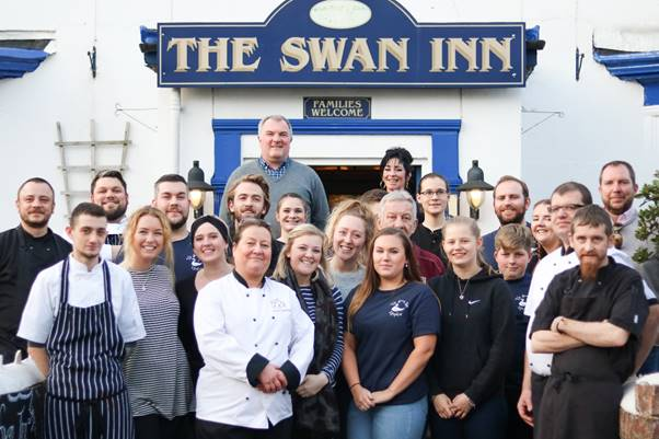 The River Exe Cafe team have taken over The Swan in Lympstone and it gets a thumbs up from us! Exploring Exeter 2019