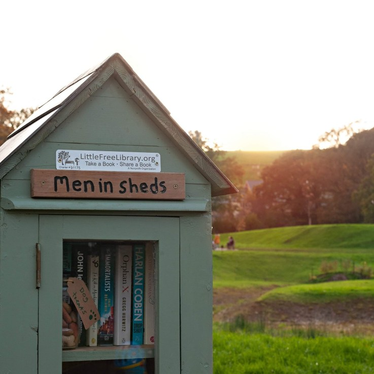 Men in Sheds, Age UK Exeter, Little Free Library