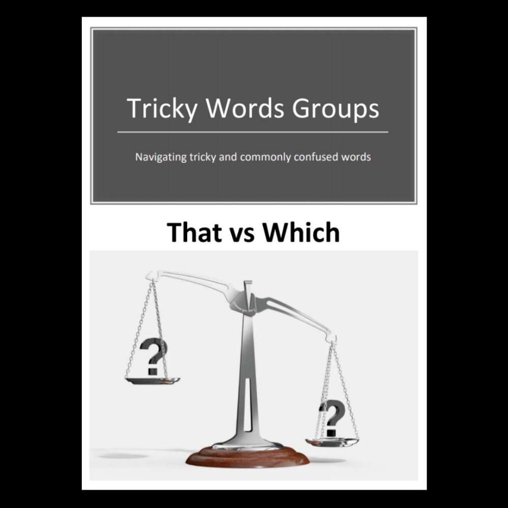 medium resolution of Tricky Word Groups #7: That vs Which (Downloadable) - Exploring Expression