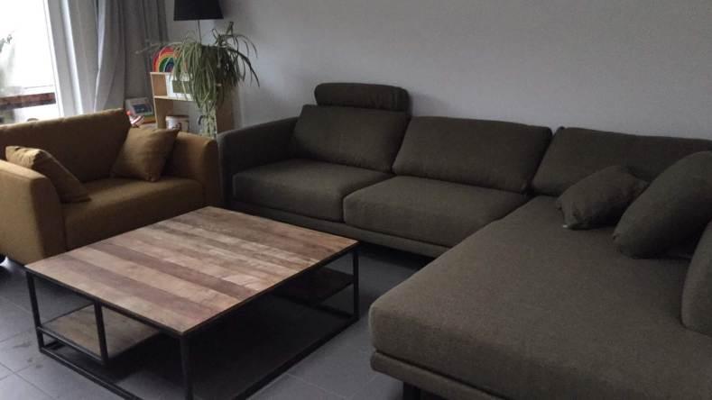 De nieuwe zetel