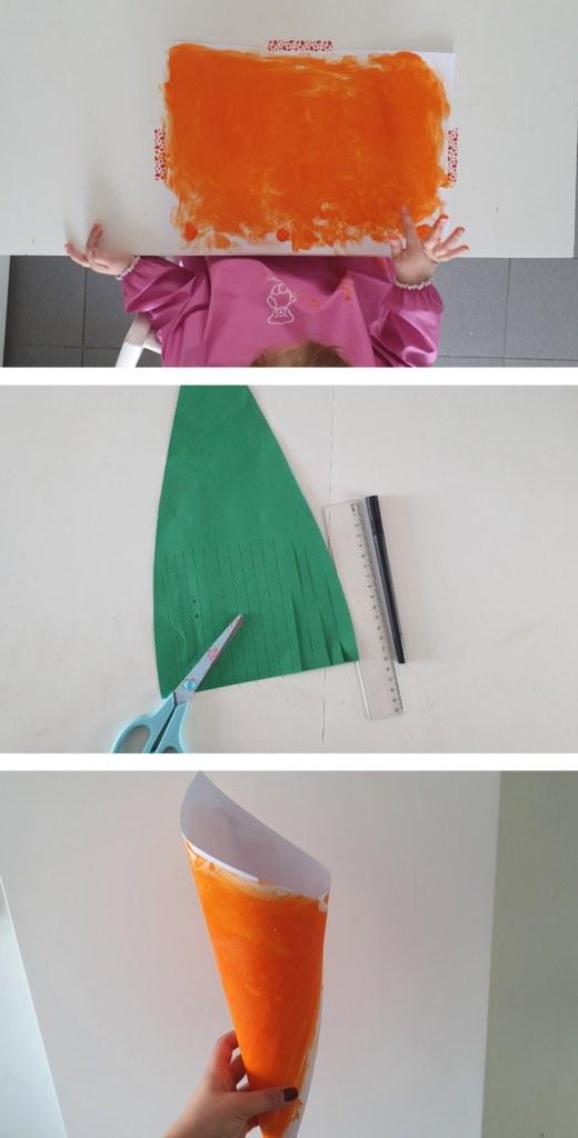 Een paasmandje maken