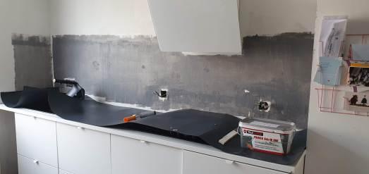 De keuken voor en na