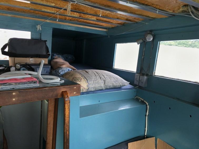 Wheelhouse accomodations