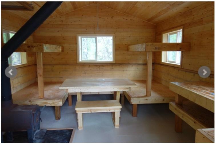 Alaska State Park Cabin
