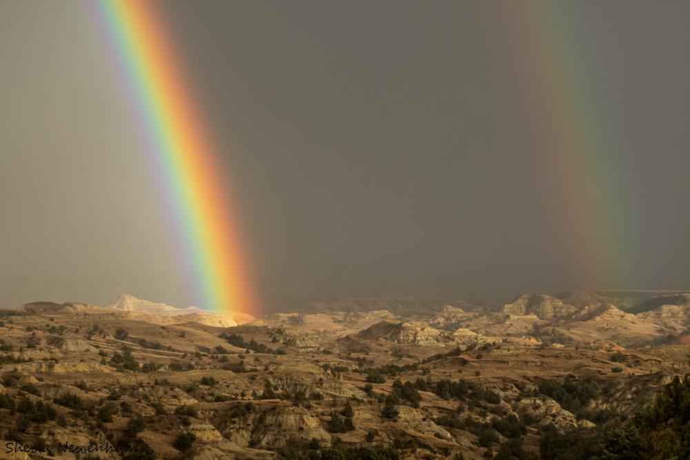 Theodore Roosevelt National Park Rainbow