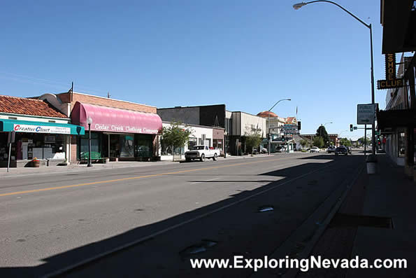 Photographs of Elko Nevada  Downtown Elko Photo 5