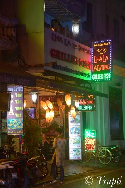 Imposter Cha Ca restaurant