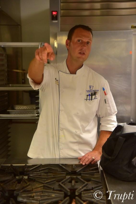 Chef Scott Steiner at Niagara Falls Culinary Institute