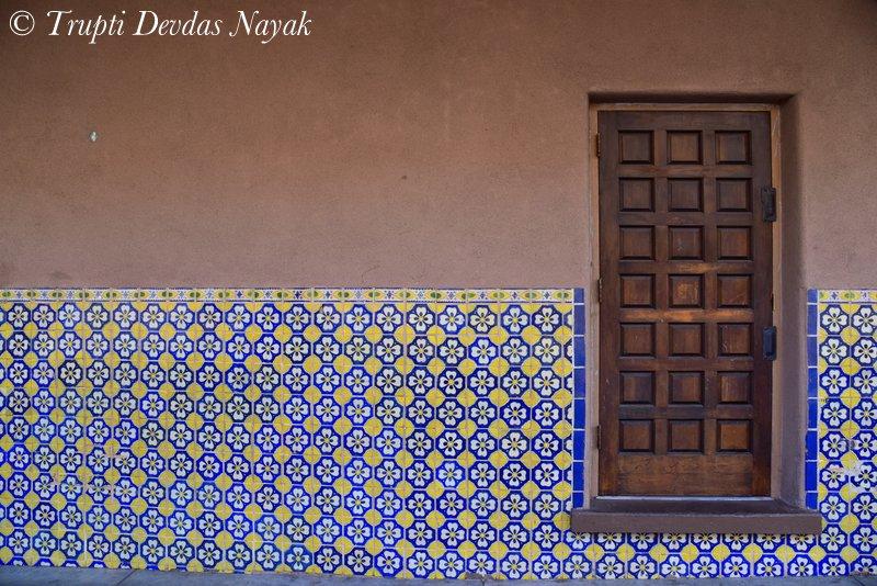 Mexican Talavera Tiles in Santa Fe