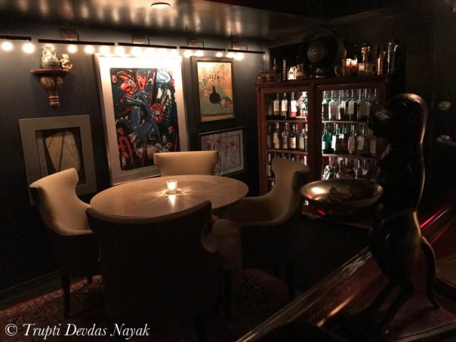 Interiors of the Office speakeasy in Chicago
