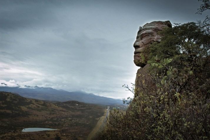 Aguascalientes Rock Face