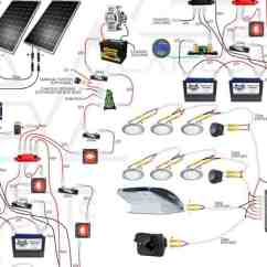 Marine Power Wiring Diagram Craftsman Lt1000 Interactive Diy Solar Diagrams For Campers Van S Rv