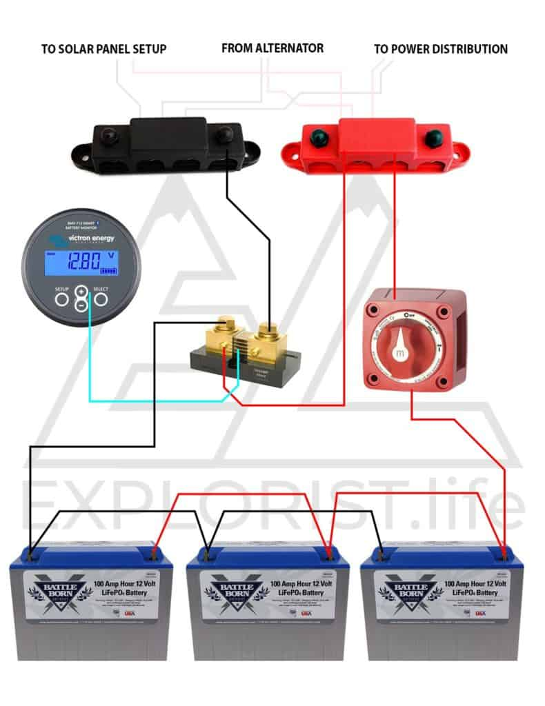 Smart Switch To Alternator Boat Wiring Easy To Install Ezacdc