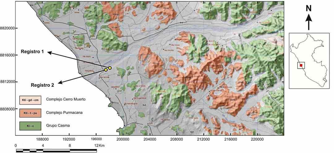 Río Pativilca Figura 1 Explorock