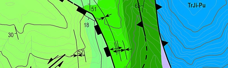 Manejo de cartografía geológica SIG/GIS