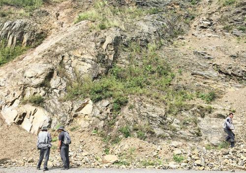 Figura 1. Mapeo geologico EXPLOROCK