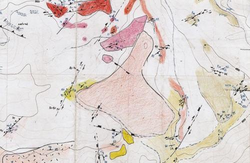 Figura 4. Mapeo geologico EXPLOROCK