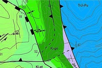 Explorock Servicios Profesionales. Cartografia geologica SIG GIS