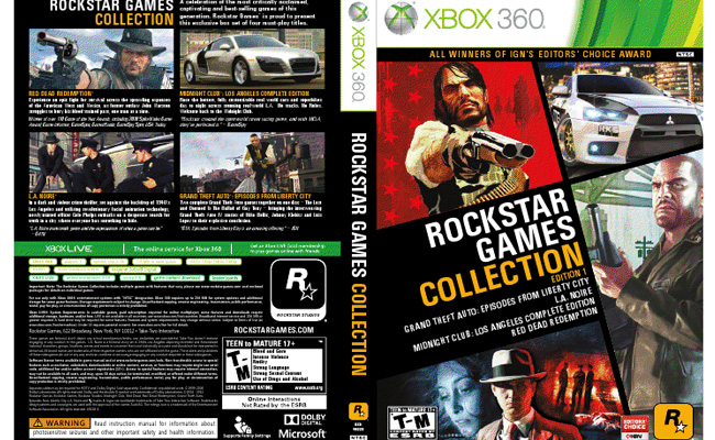 Rockstar Games Collection Edition 1 Coming Soon