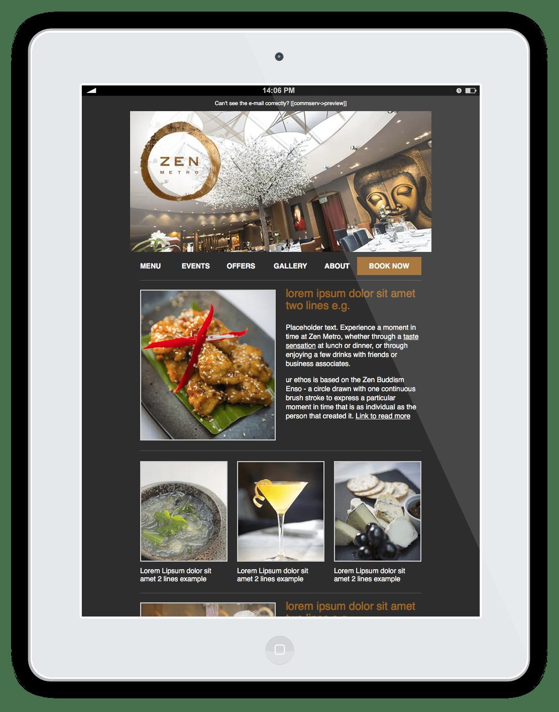 Zen Metro Restaurant