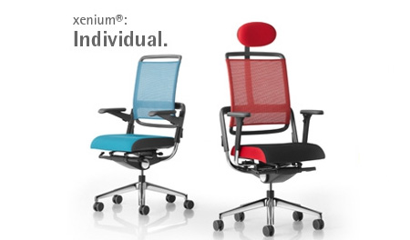 xenium swivel chair curved leather dining ergonomic office furniture by rohde grahl individual