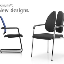 Xenium Swivel Chair Baseball Glove Ergonomic Office Furniture By Rohde Grahl Cantilever
