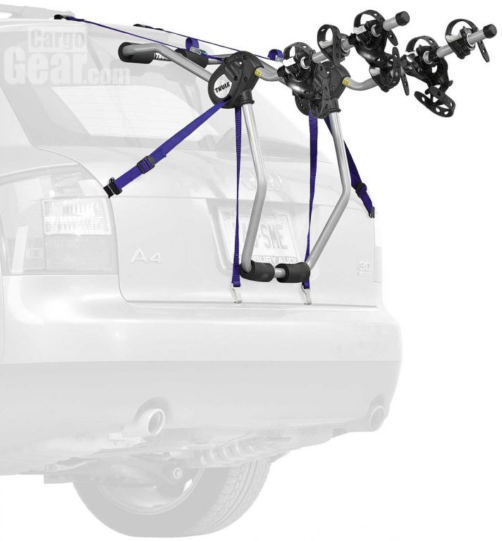 thule passage bike trunk mount rack