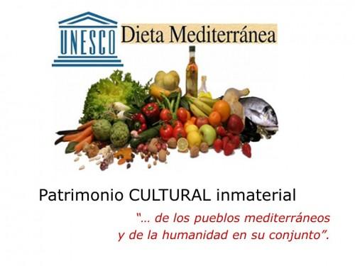 La dieta mediterrnea Patrimonio Cultural e Inmaterial de