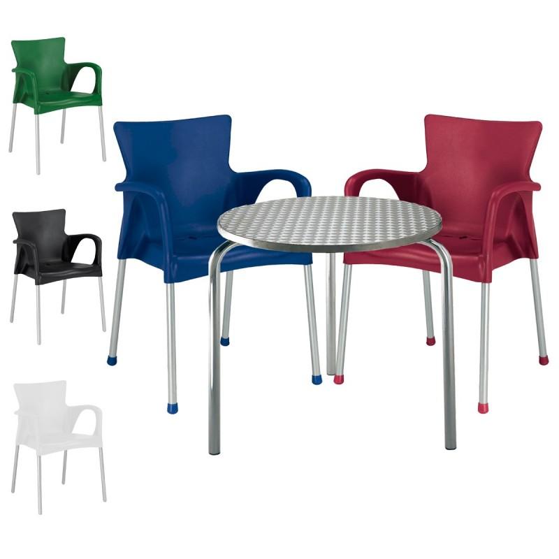 Mesa y sillas para terraza FASHION3 conjunto 3sillas1mesa