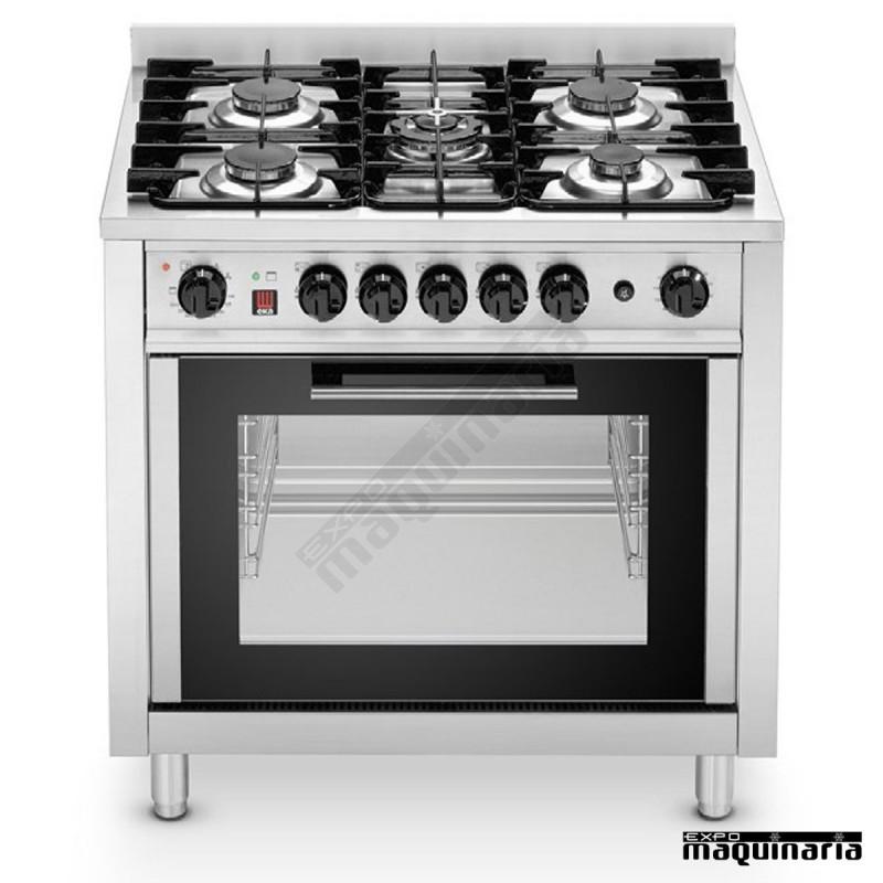 Cocina  horno industrial de gas RMEKP96EKC963