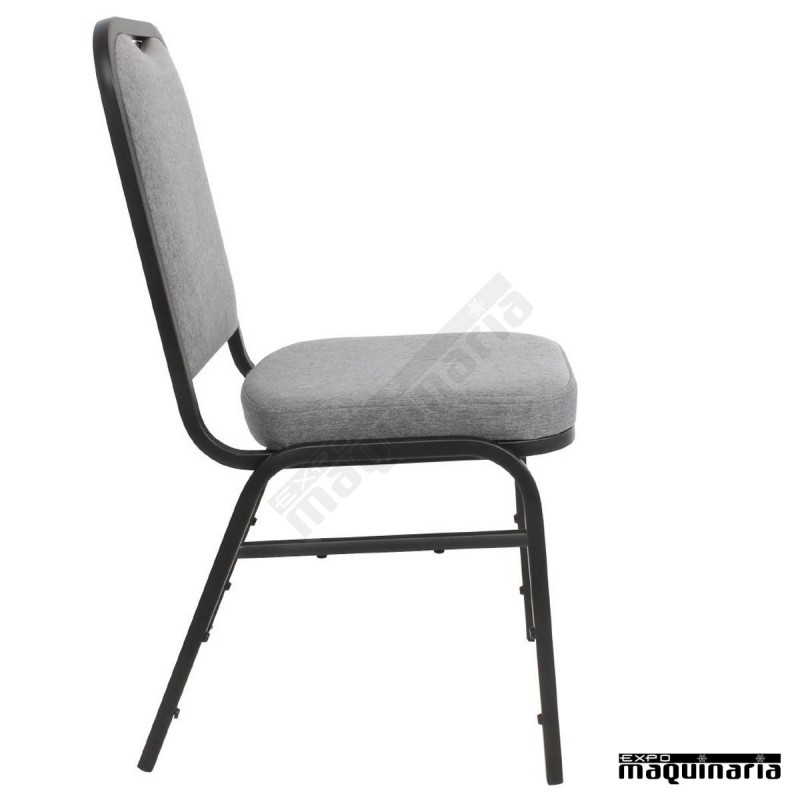 Sillas comedor apilables NIDA602 sillas salon tapizadas en