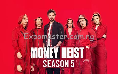 Money heist season 5 professor