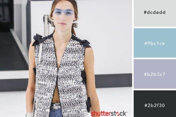 moda e a cor prata
