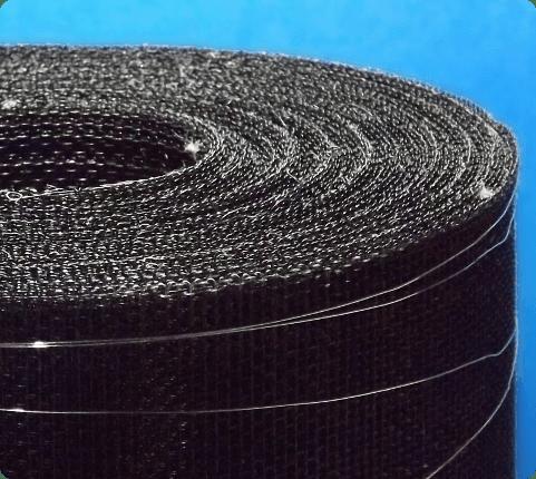 malla mosquitera de aluminio color negro Universe