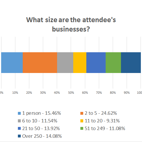 Attendee Business Size