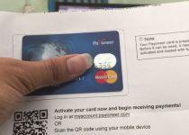 payoneer mastercard