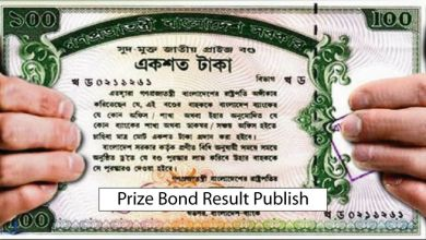 100th Prize Bond Draw Result