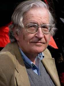 Noam Chomsky Source: Wikimedia Commons