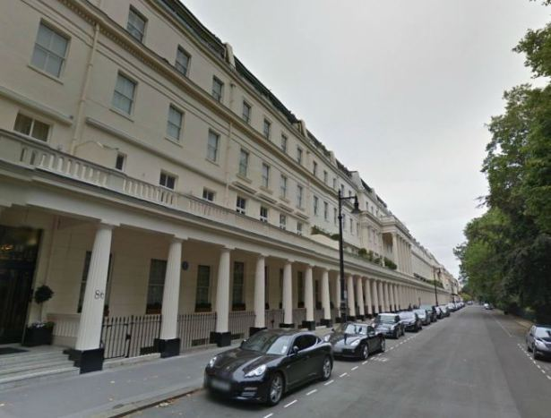 London has some of the most expensive property on the planet (Picture- Google Maps)